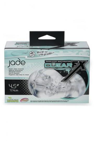 CLEAR FX JADE MASTURBATOR