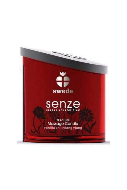 Massage candle Senze teasing Swede