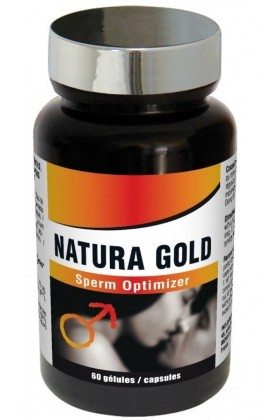 Natura Gold : Optimiseur de spermatogenèse - 60 gélules