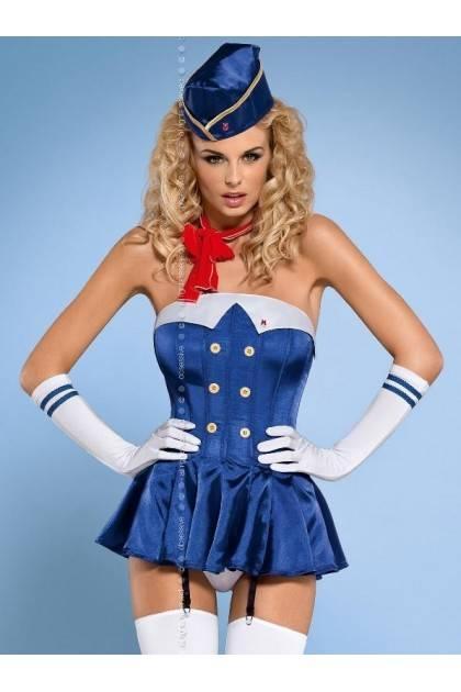 Stewardess corset Obsessive - 1