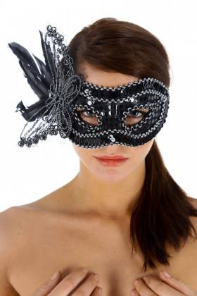 MASK LA GIOCONDA, BLACK T. U Maskarade - 1