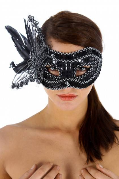 MASK LA GIOCONDA, BLACK T. U Maskarade