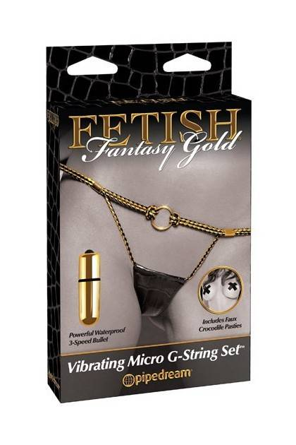 VIBRATING MICRO G-STRING SET Pipedream - 2