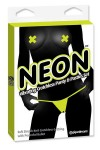 NEON VIBRATING PANTY YELLOW Pipedream - 1