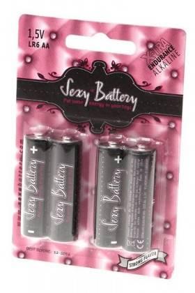 4 BATTERIES LR6 Sexy battery