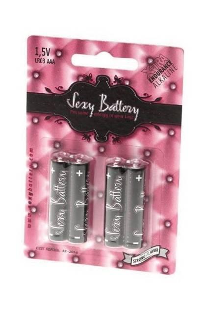 4 BATTERIES LR3 Sexy battery