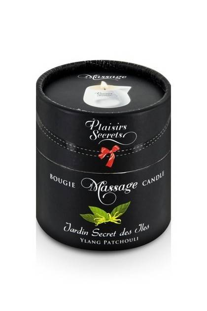 BOUGIE DE MASSAGE YLANG/PATCHOUL Plaisirs secrets - 2