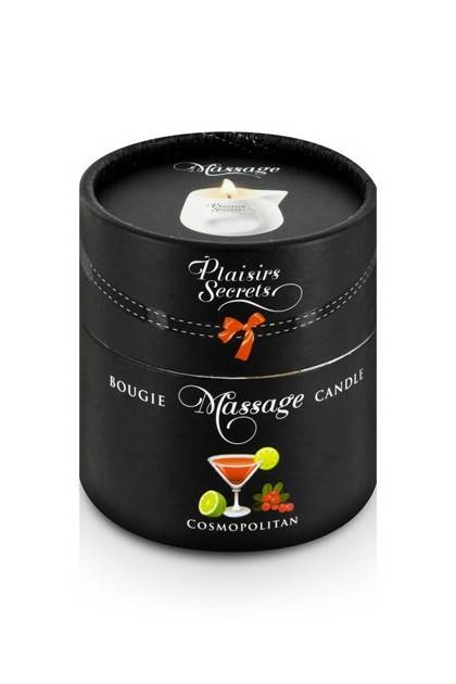 CANDLE MASSAGE COSMOPOLITAN 80ML Plaisirs secrets