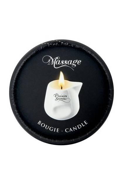 BOUGIE MASSAGE PECHE 80ML Plaisirs secrets - 3