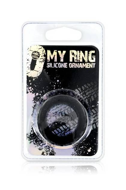 MY RING SILICONE BLACK L NMC - 2
