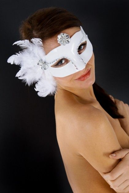 MASQUE CATS BLANC T.U Maskarade - 2