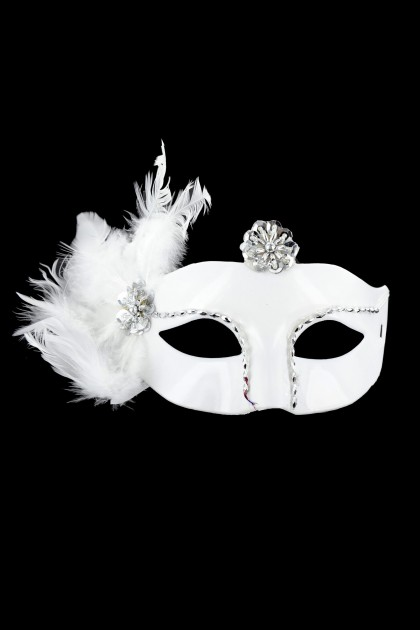 MASQUE CATS BLANC T.U Maskarade - 3