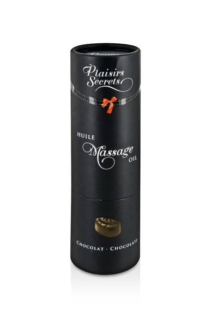 HUILE MASSAGE CHOCOLAT 59ML Plaisirs secrets - 2
