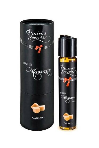 OIL MASSAGE CARAMEL 59ML Plaisirs secrets