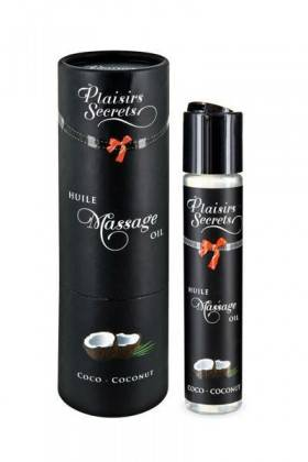 MASSAGE OIL COCONUT 59ML Plaisirs secrets