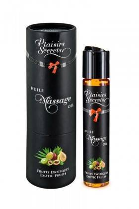 HUILE MASSAGE FRUITS EXOT.59ML Plaisirs secrets - 1
