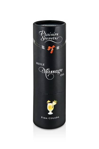 MASSAGE OIL PINA COLADA 59ML Plaisirs secrets