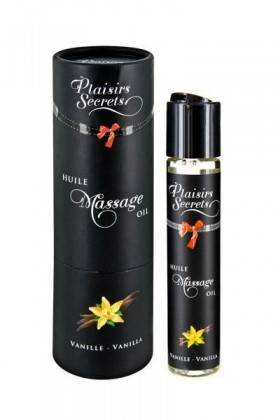 MASSAGE OIL VANILLA-59ML Plaisirs secrets - 1
