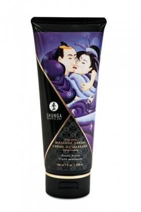 CREME DE MASSAGE 200ML EXOTIQUE Shunga - 1