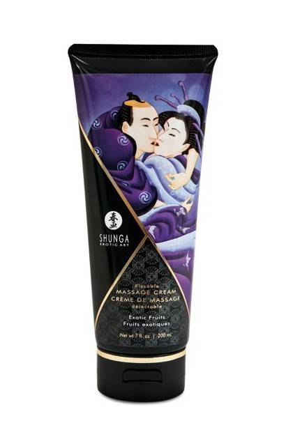 CREME DE MASSAGE 200ML EXOTIQUE Shunga