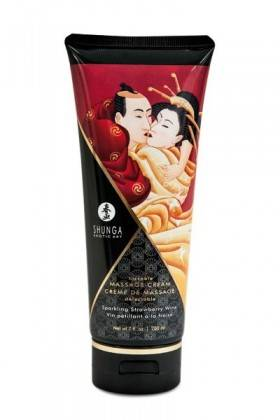 CREAM MASSAGE 200ML WINE STRAWBERRY Shunga