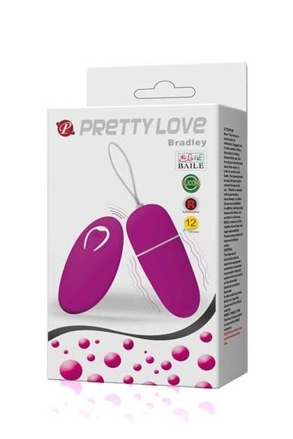 Oeuf vibrant puissant Pretty Love Bradley Fuchsia Pretty Love