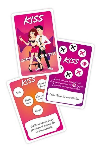 PLAY KISS - CARDS SCRATCH Wolnash