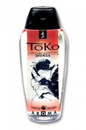 TOKO LUBRIFIANT TANGERINE 165ML Shunga