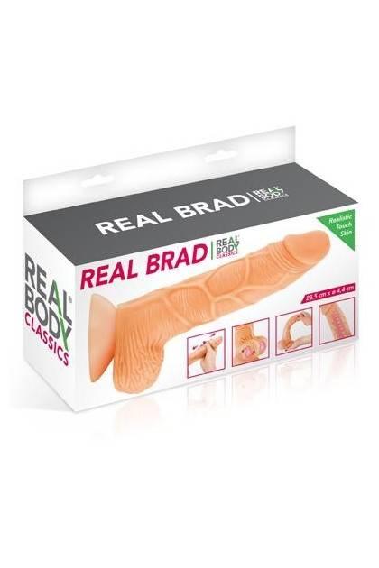 DILDO REALISTIC REAL BODY BRAD Realbody