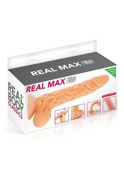 DILDO REALISTIC REAL BODY MAX Realbody