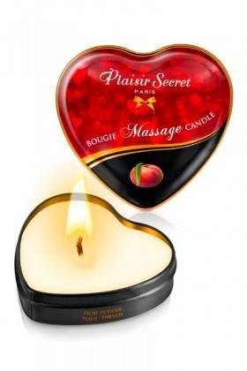 Mini-bougies de massage Pêche de Vigne