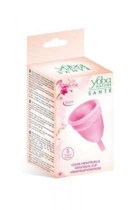 Menstrual cup size S Pink Yoba Nature Yoba Nature Health