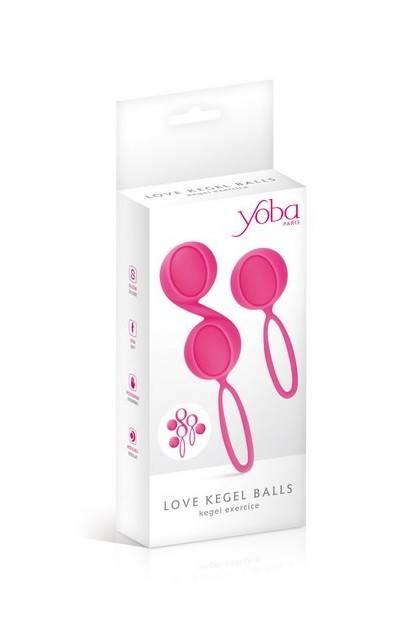 SET 2 KEGEL BALL PINK Yoba