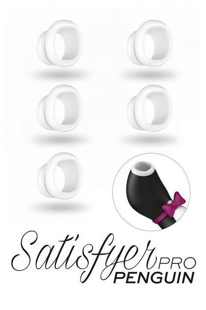 5 embouts silicone Satisfyer Pro Penguin Next Gen Satisfyer