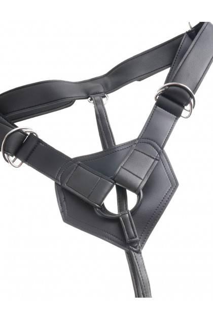 Gode ceinture anal réaliste King Cock - 19 cm Pipedream USA