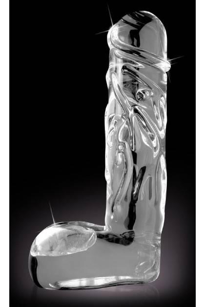 Gode Réaliste en verre Icicles No 40