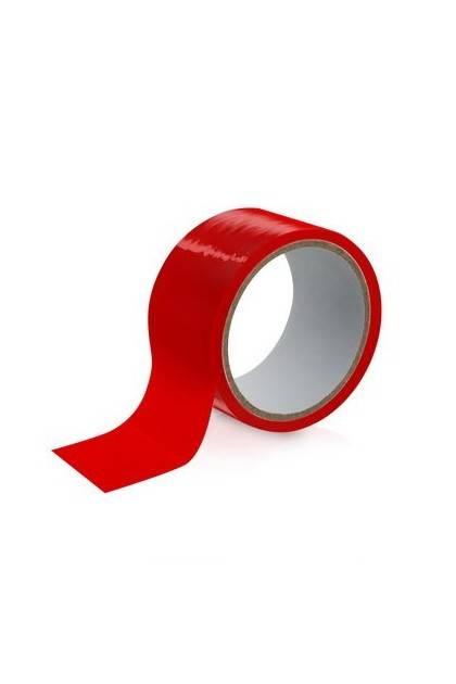 Tape rouge bondage 15M Fetish Tentation