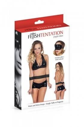 Waist straps handcuffs Fetish Temptation Fetish Temptation