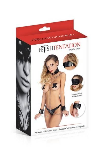Collier menottes et chaînes Fetish Tentation Fetish Tentation - 1