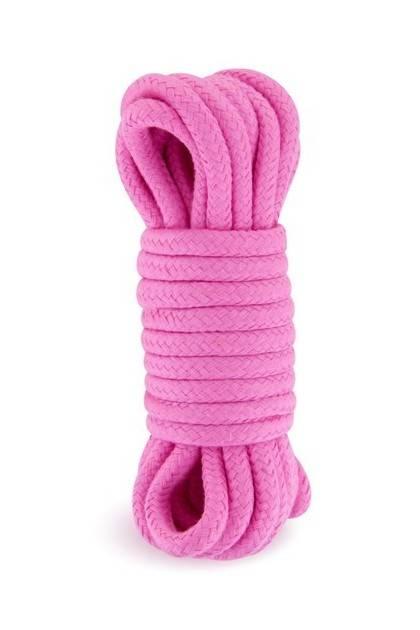 Corde bondage shibari 5 mètres rose Sweet Caress