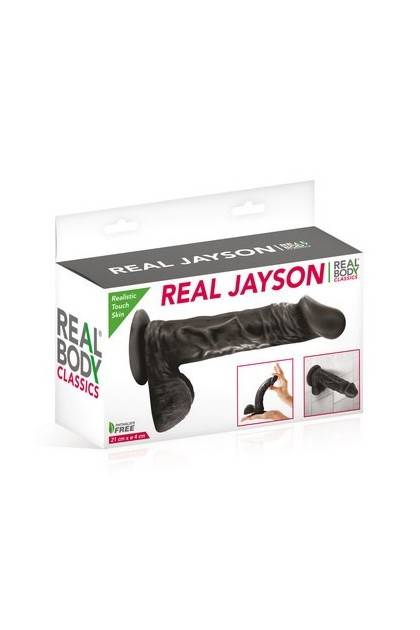 GODE REALISTE REAL BODY JAYSON 7 BLACK Realbody