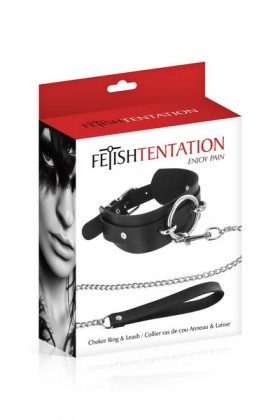 CHOKER O-RING Fetish Tentation - 1