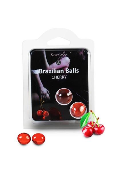 2 BRAZILIAN BALLS CHERRY (CHERRY) Brazilian