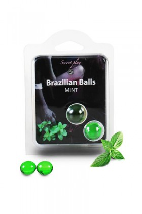 2 BRAZILIAN BALLS MINTH (MENTHE) Brazilian