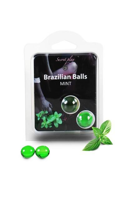 2 BRAZILIAN BALLS MINTH (MINT) Brazilian