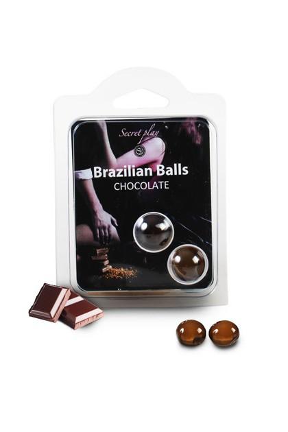 2 BRAZILIAN BALLS CHOCOLATE (CHOCOLAT) Brazilian