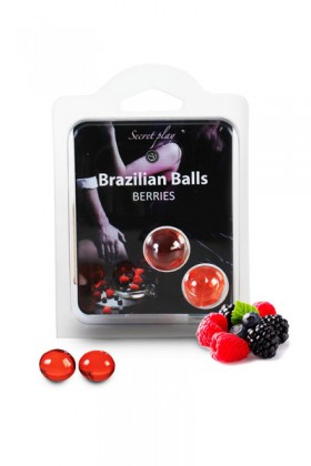 2 BRAZILIAN BALLS BERRIES (forest FRUITS) Brazilian
