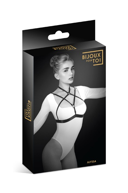 Chest harness Alyssa Jewel for you