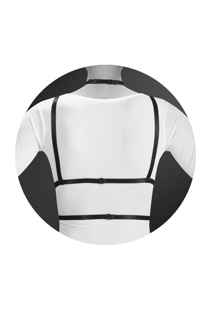 Chest harness Laura Jewel for you