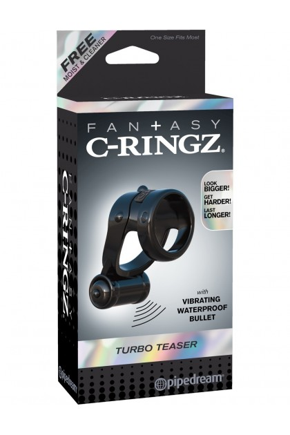 Ring for penis and testicles vibrating Turbo Teazer Pipedream USA